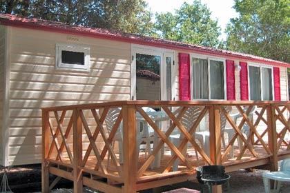 case mobili San Polo Camping