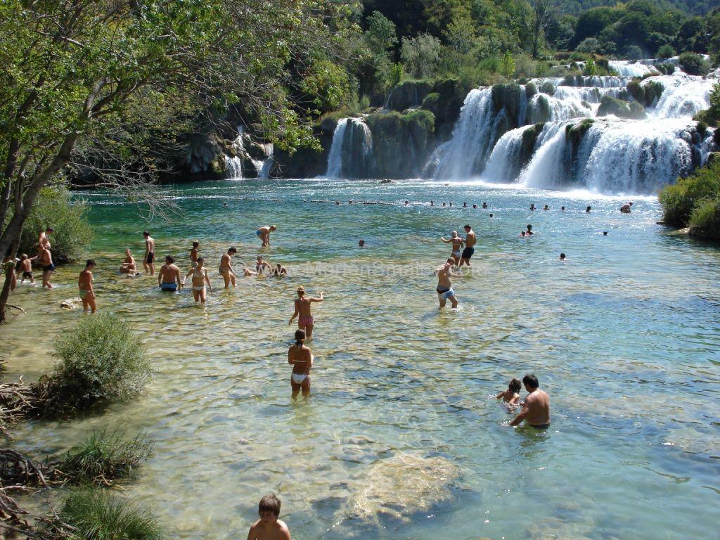 parco nazionale Krka,le cascate