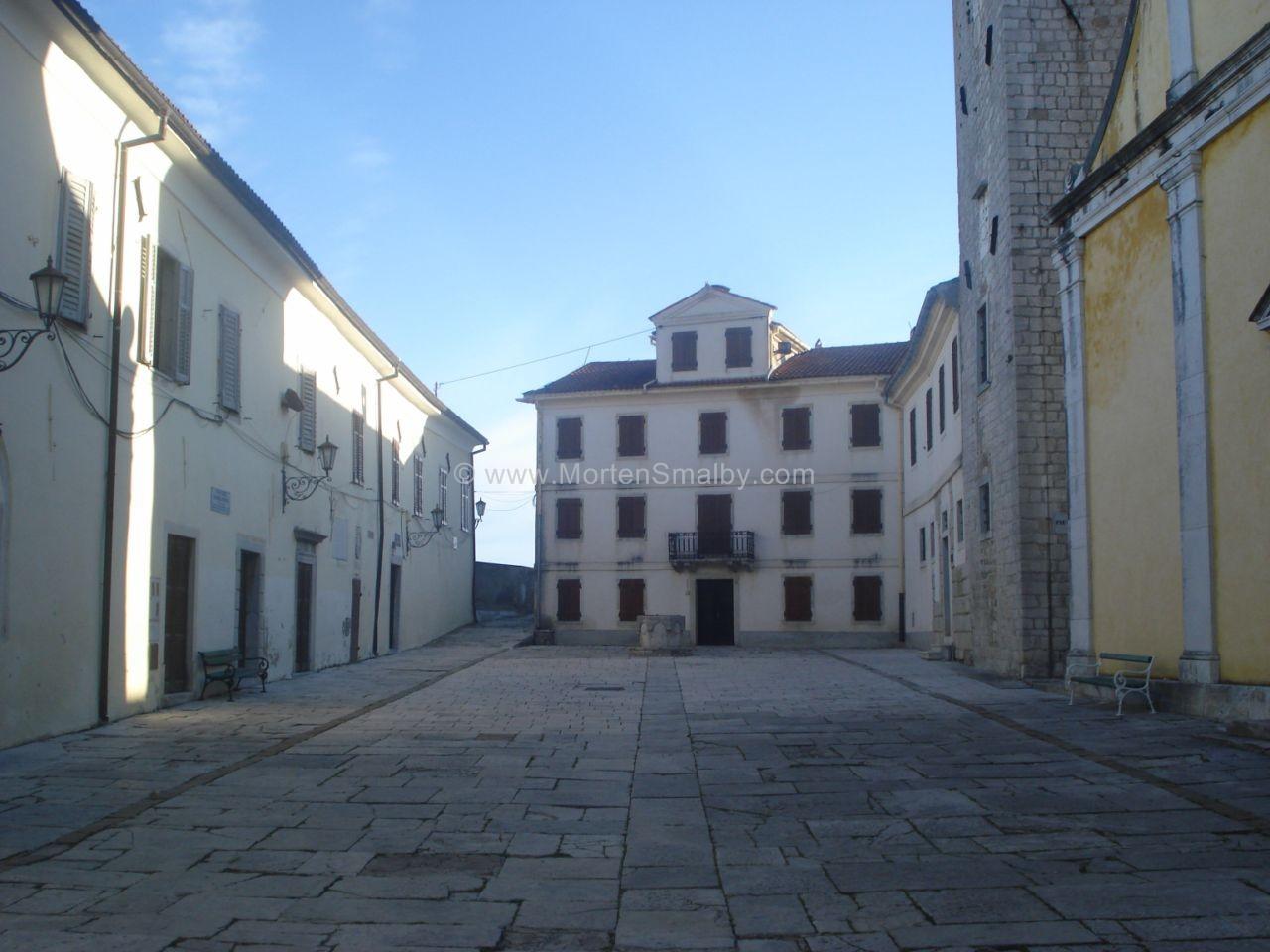 Motovun,piazza dove si svolge film festival