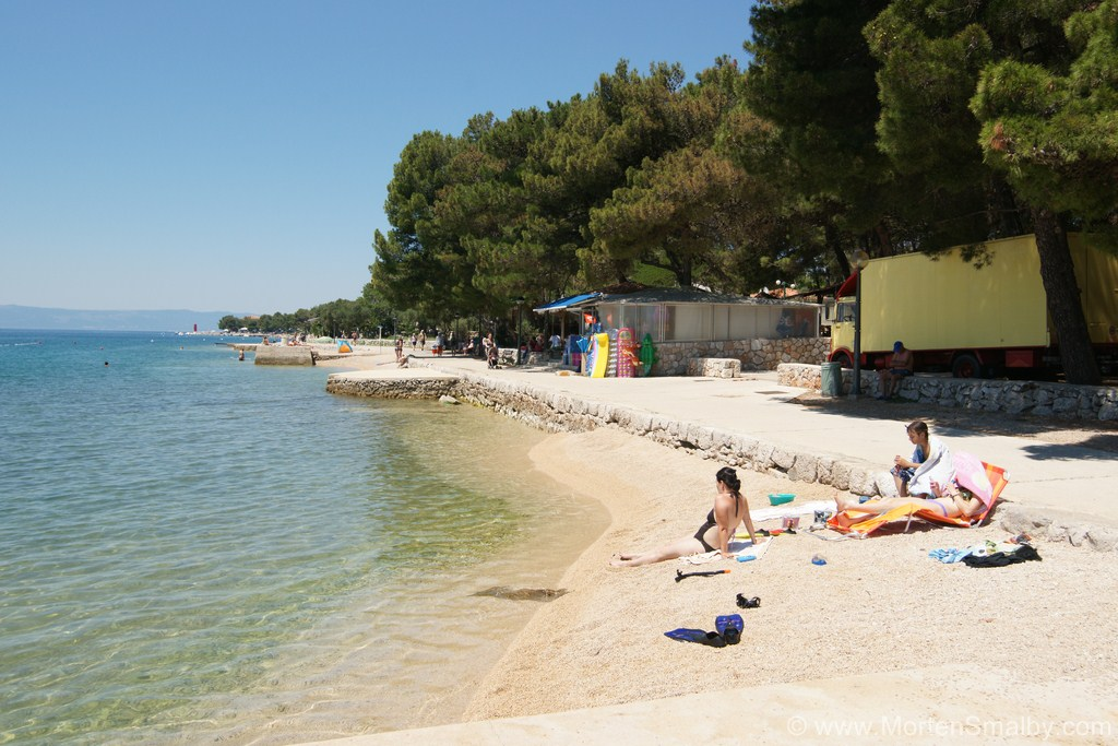Spiaggia all'isola di Cres
