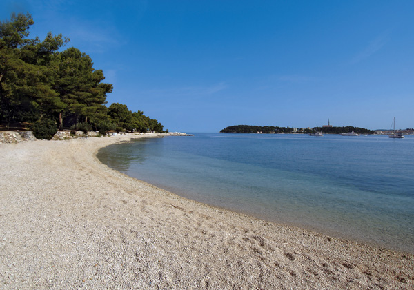 spiaggia di Hotel-eden Rovigno