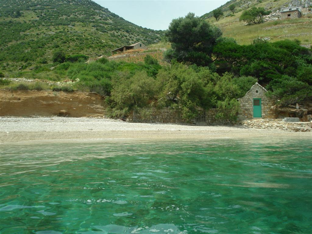 spiaggia remota Brac