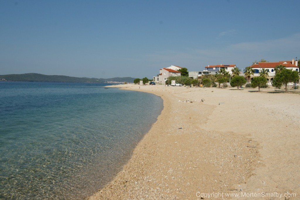 Spiaggia a Bibinje