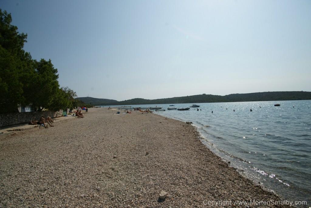Spiaggia a Pirovac