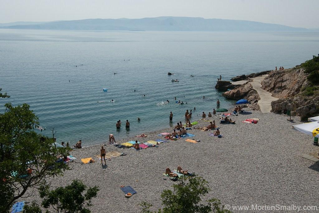 Spiaggia a Senj