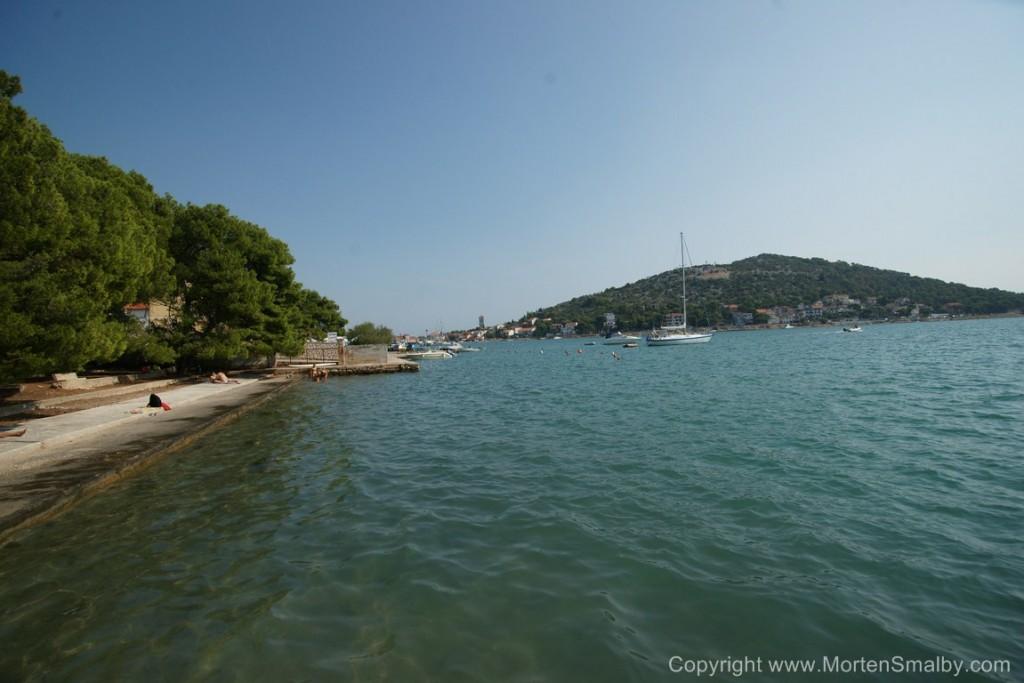 Spiaggia a Tisno