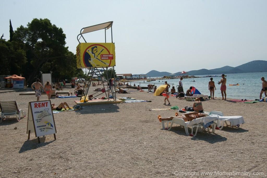 Spiaggia a Biograd na moru