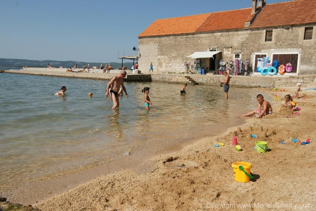 Spiaggia a Santi Filippo e Giacomo