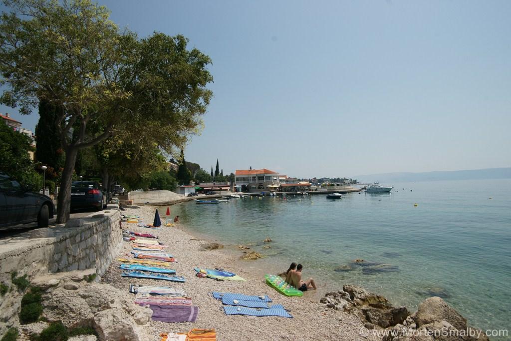 Spiaggia a Selce