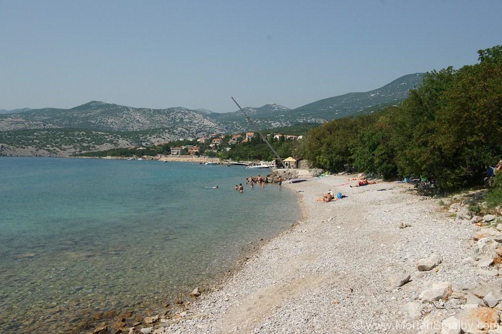 Spiaggia a Klenovica