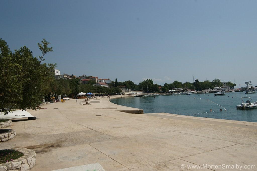 Spiaggia pubblica di Novi Vinodolski
