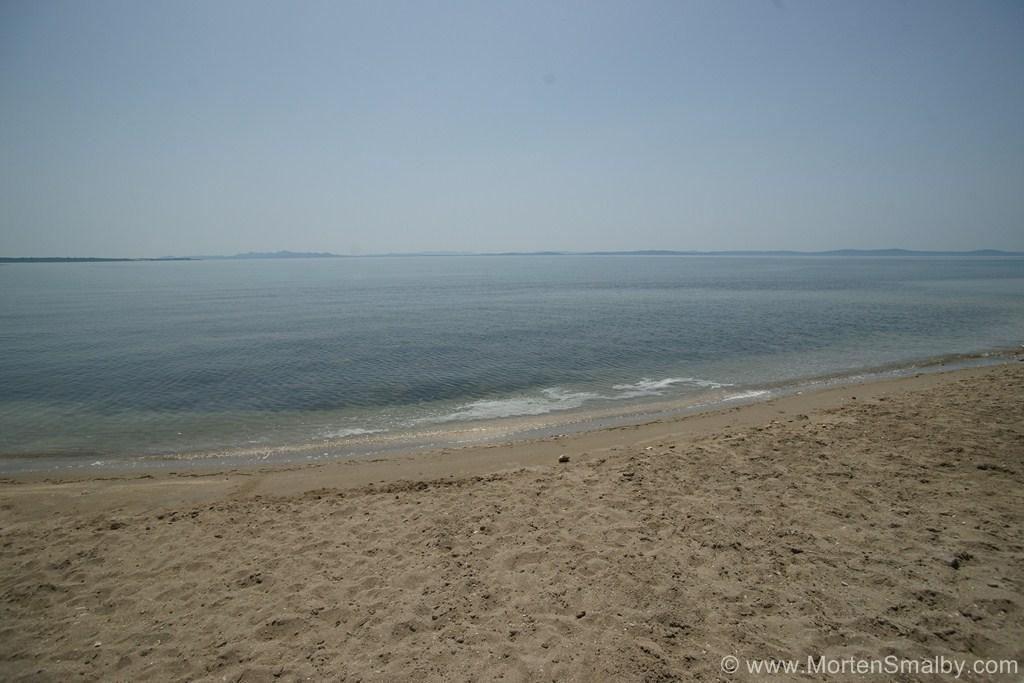 Spiaggia sabbiosa a Privlaka