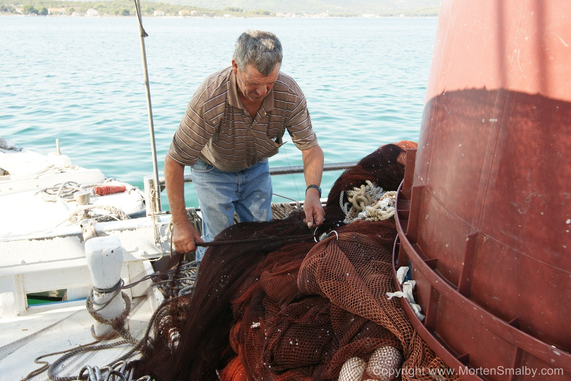 Pescatore a Turanj