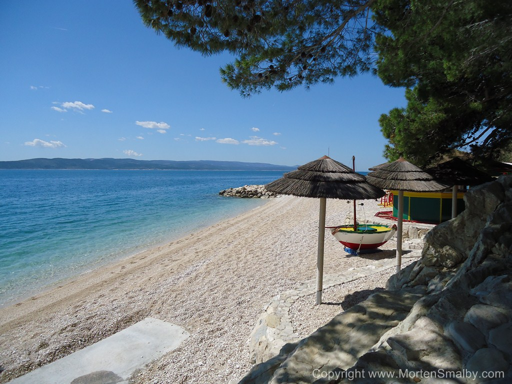 Spiaggia a Baska Voda