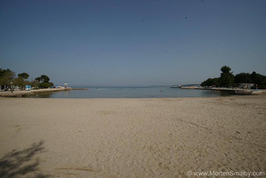 Spiaggia a Zara