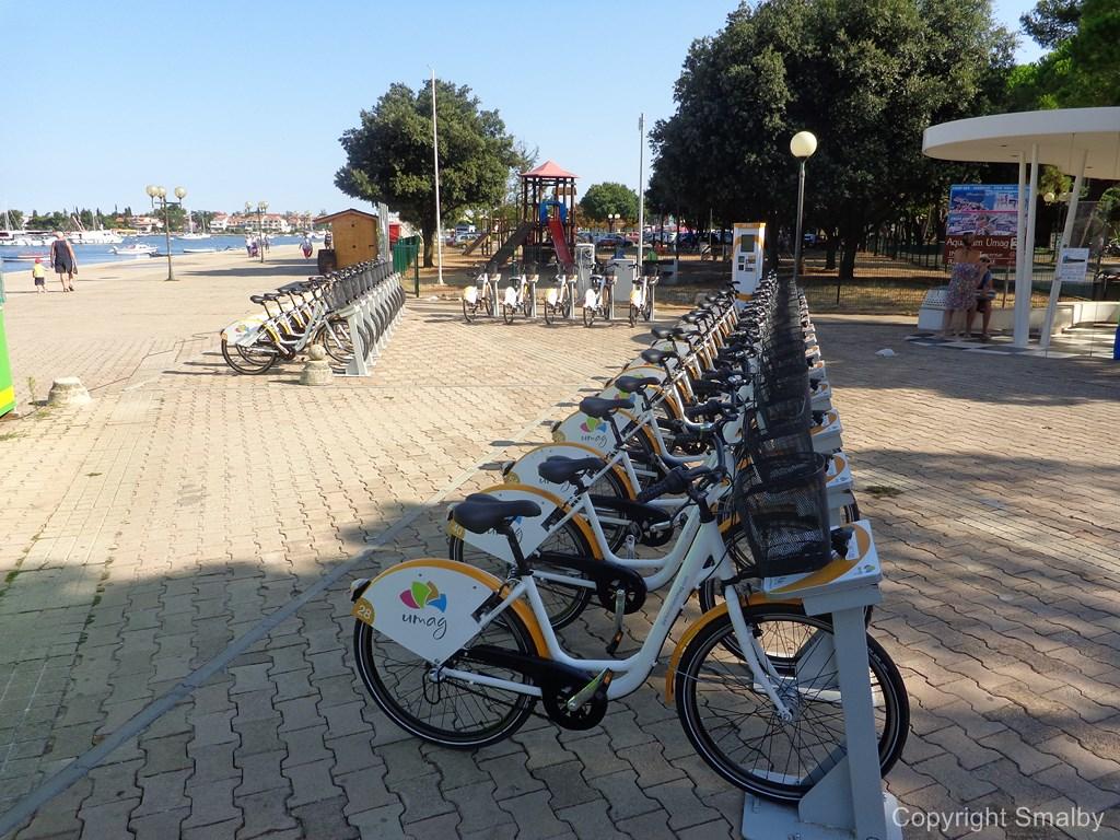 Umago noleggio bici