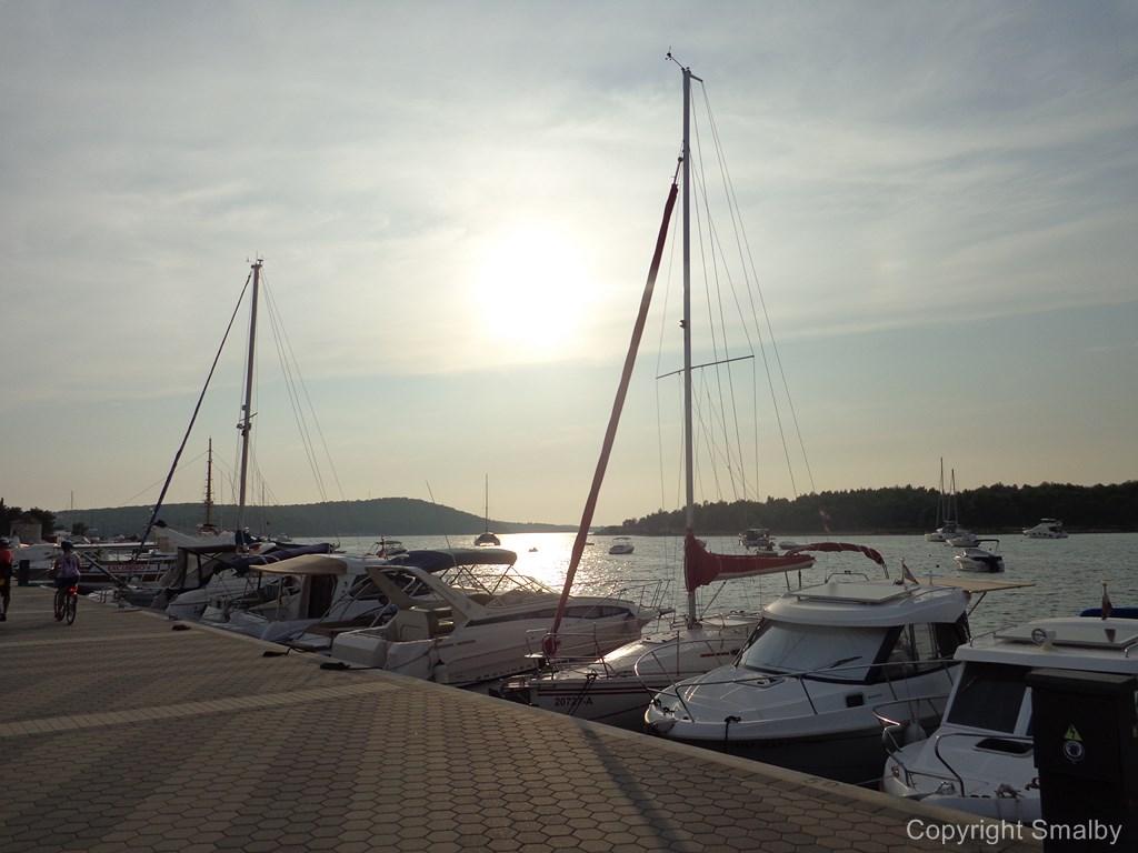 Piccolo porto Medolino