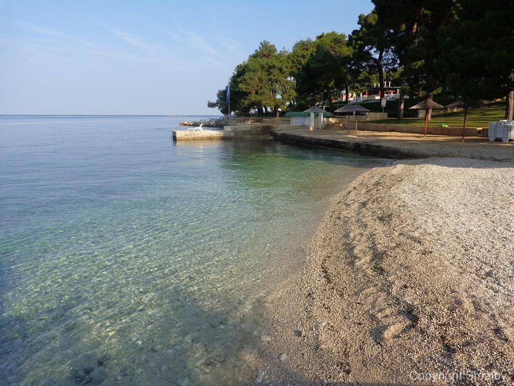 Spiaggia a Parenzo