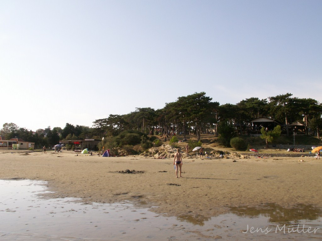 Spiaggia a Rab