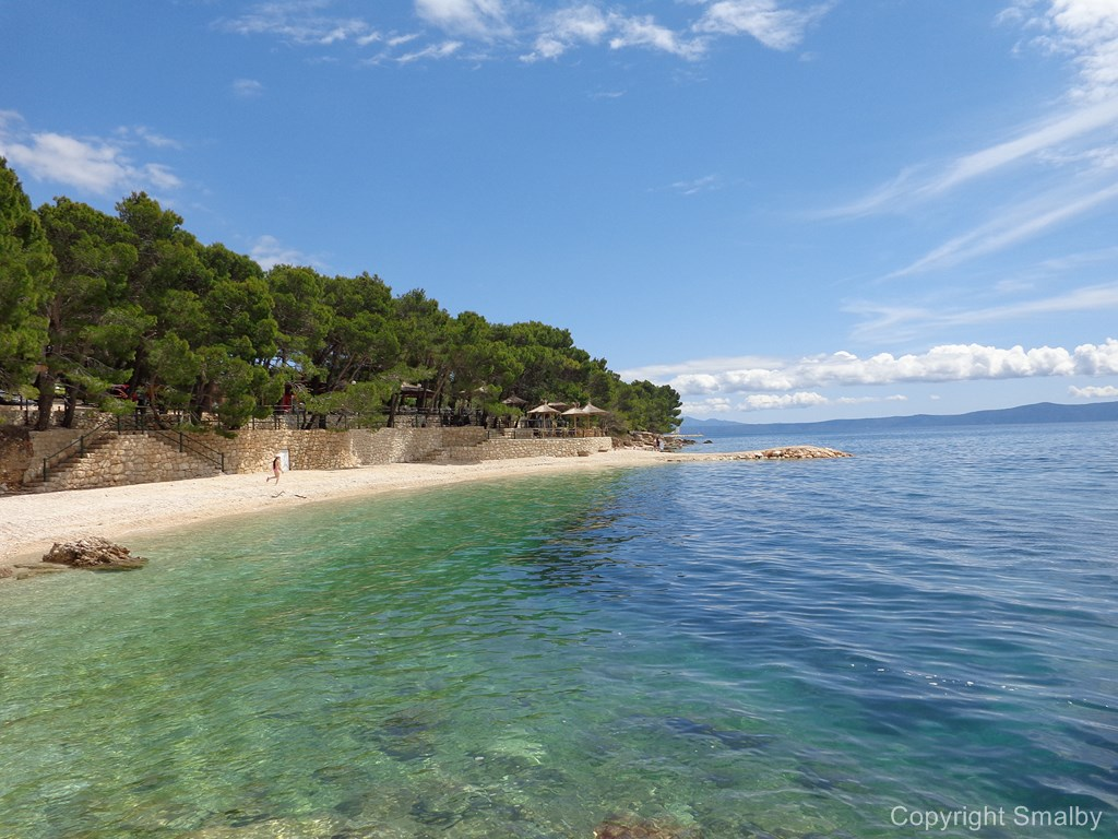spiaggia a makarska