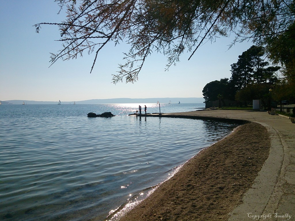Spiaggia a Kastela
