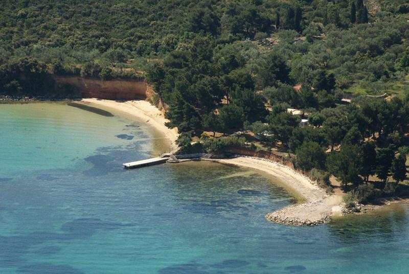 Campeggio Sovinje-spiaggia nudista