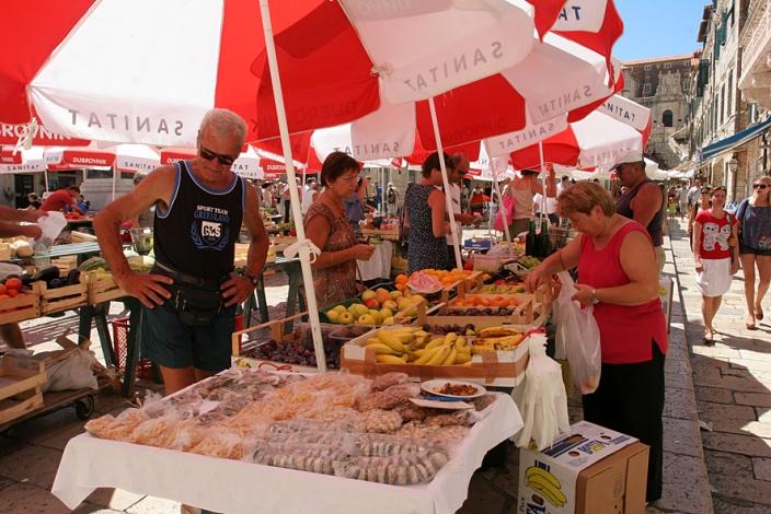 mercato verde-Dubrovnik